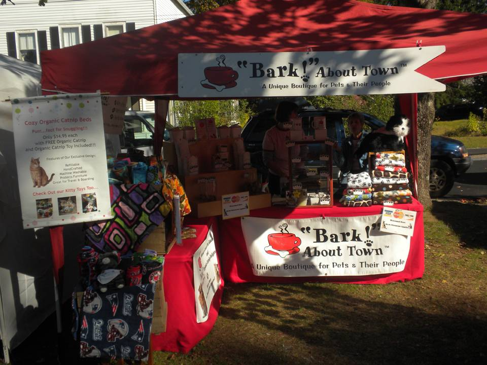 Bark About Town booth
